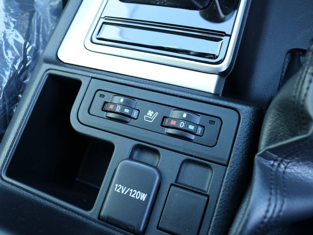 シートエアコンで快適ドライブ!