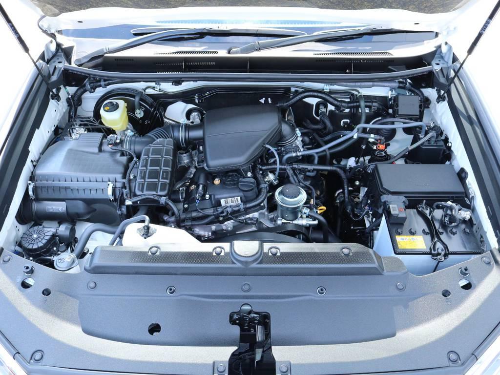2700ccガソリンエンジン搭載!