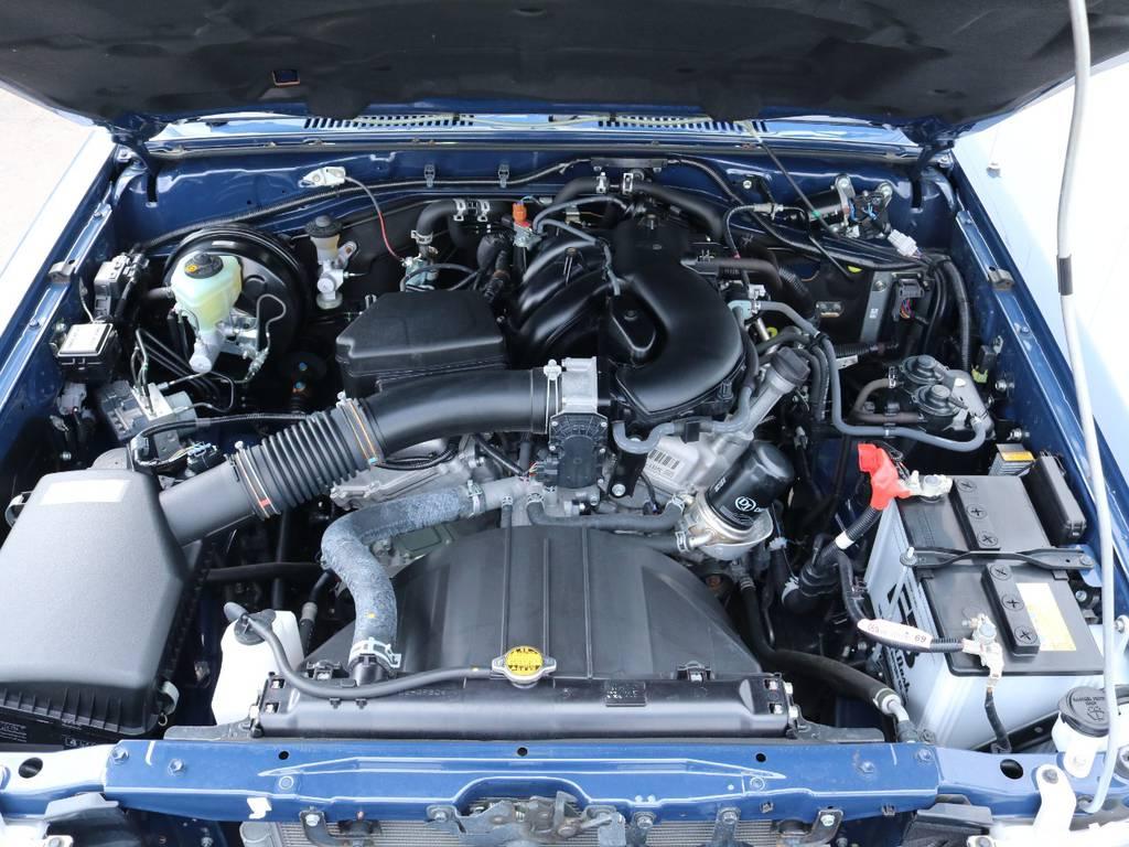 パワフルな4000ccエンジン搭載!