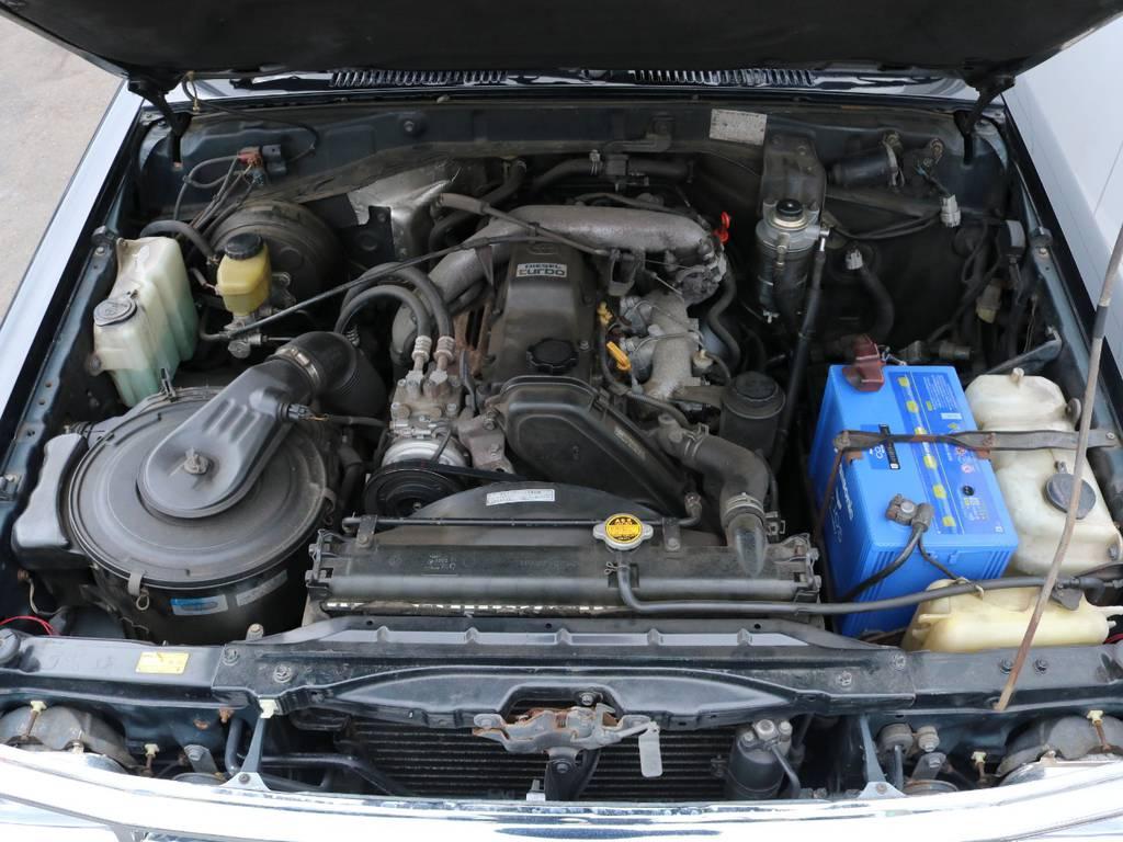 3000ccディーゼルエンジン搭載!