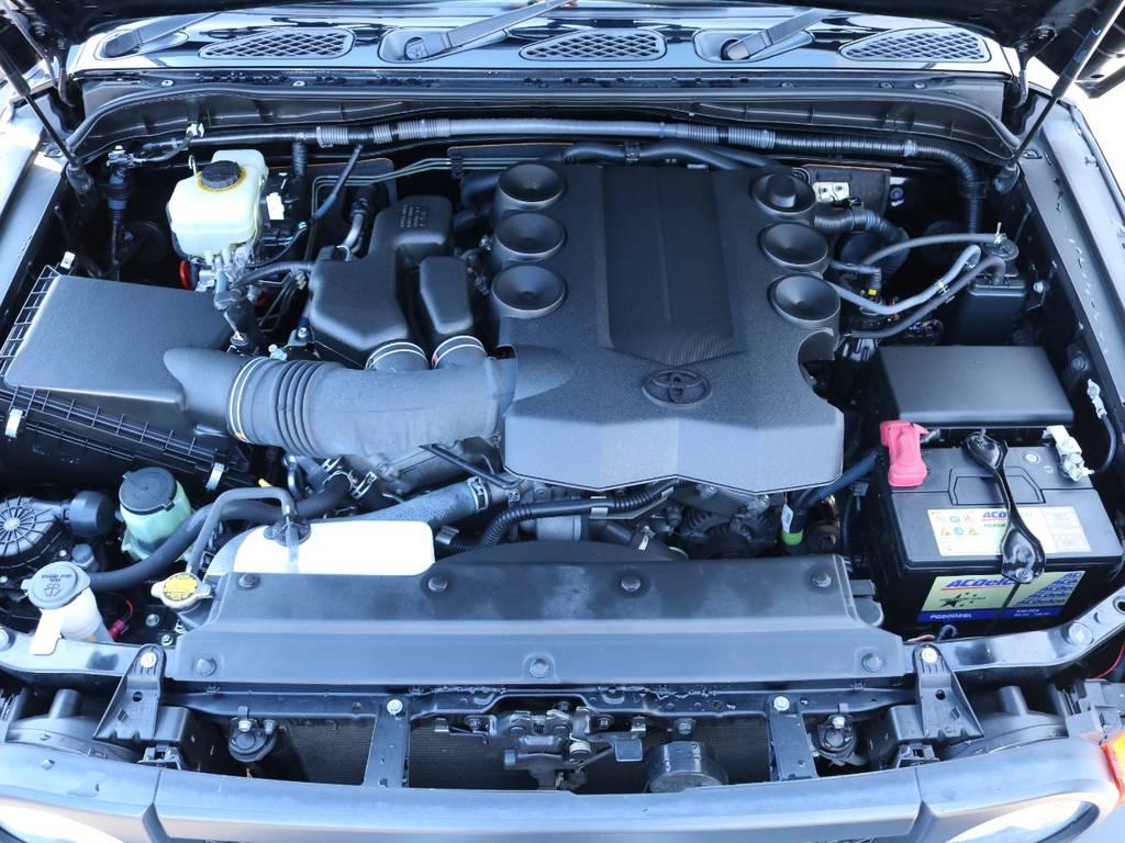 4Lエンジン搭載で快適なドライブを実現!