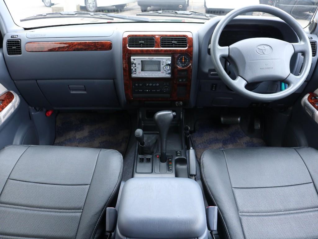 インパネはサイズ感も良く、運転中でも快適に操作が可能です!