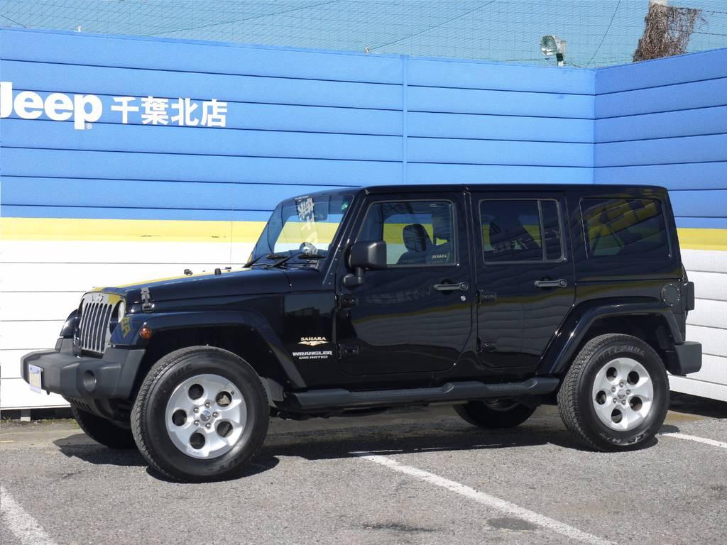 ラングラー アンリミテッド サハラ 4WD