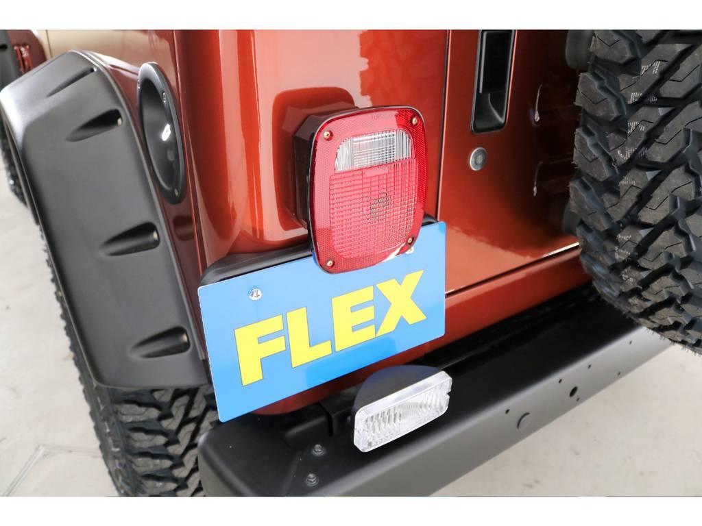 USテール&テールガード&リアナンバー移設(新品装着)   ジープ ラングラー サハラ ハードトップ 4WD