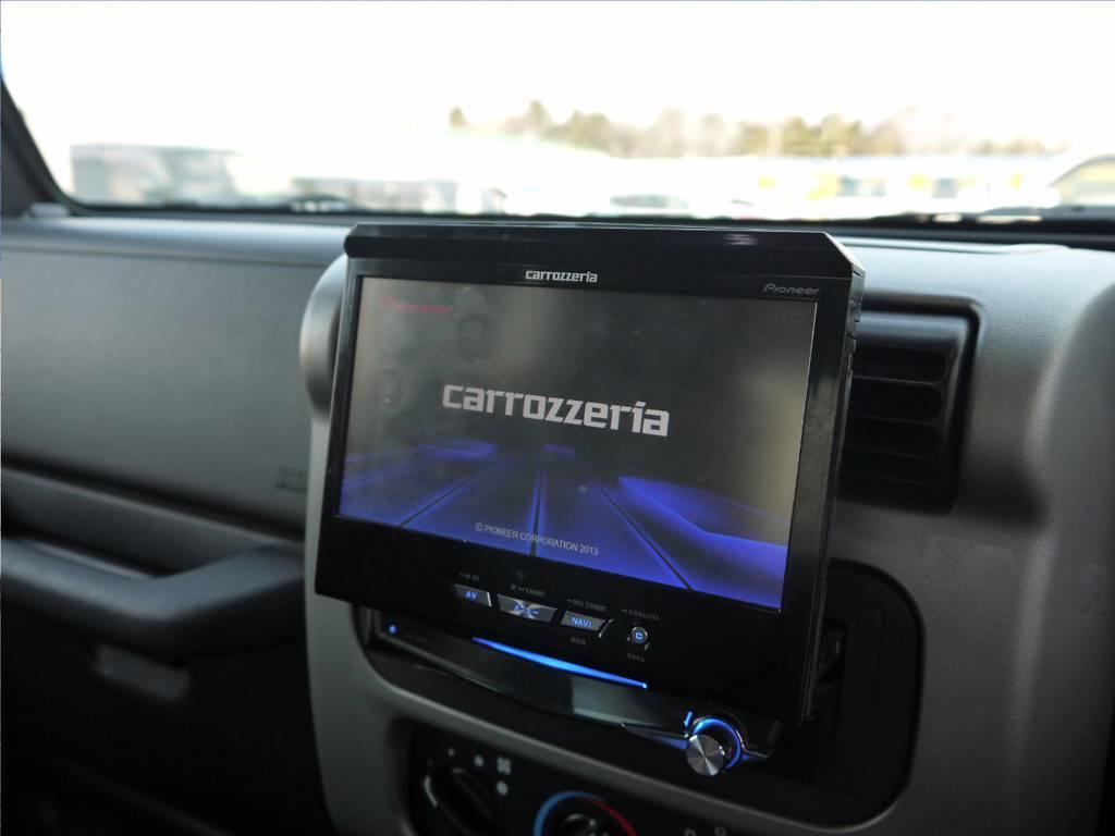 カロッツェリアナビ(フルセグ)   ジープ ラングラー サハラ ハードトップ 4WD