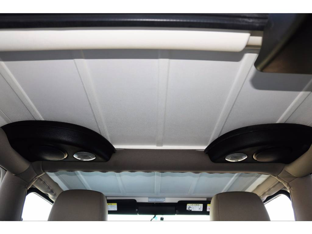 ~ 天井にも目立った汚れも無く綺麗です♪ ~ | ジープ ラングラー サハラ ハードトップ 4WD