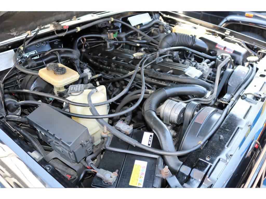 エンジンルーム☆別途安心メンテナンスパックもご用意しております。パック内容はウィークポイントとなるラジエーターおよびラジエター周辺部品、クランクポジションセンサーは新品交換致します!! | ジープ チェロキー リミテッド 4WD