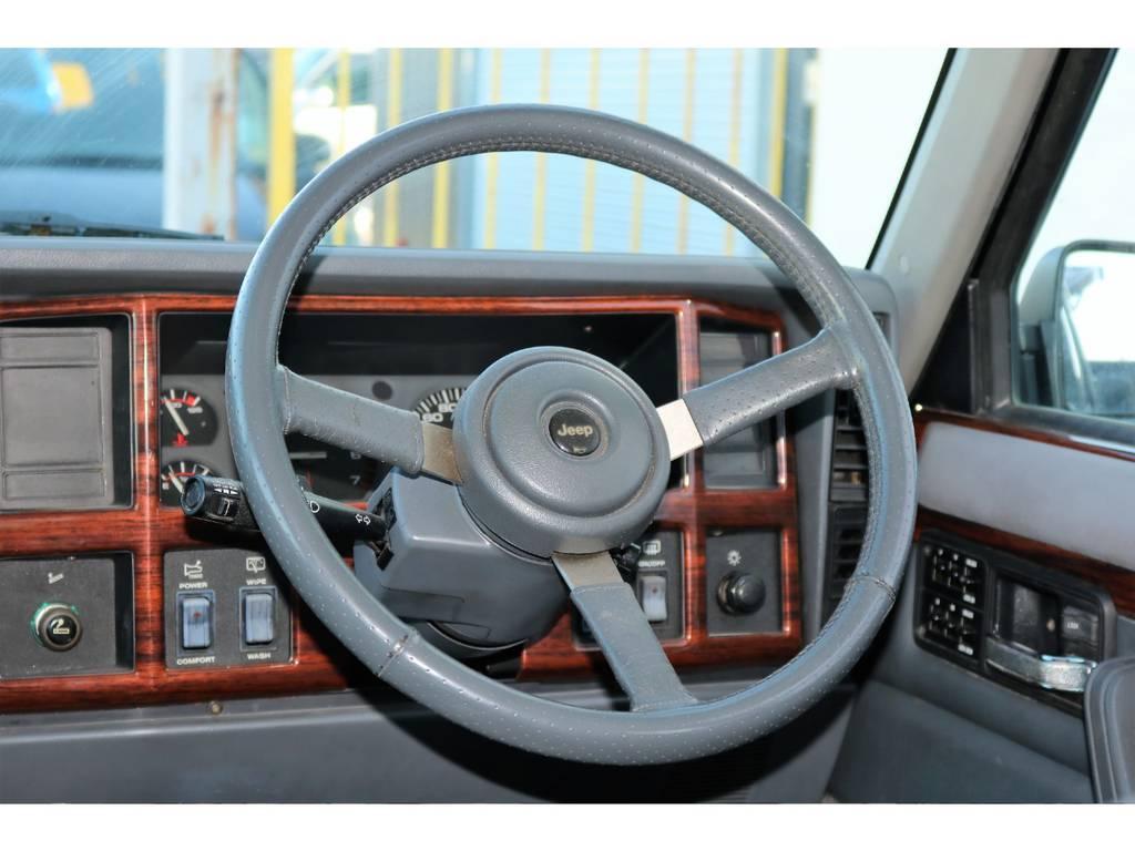 3本ステアリング☆ | ジープ チェロキー リミテッド 4WD