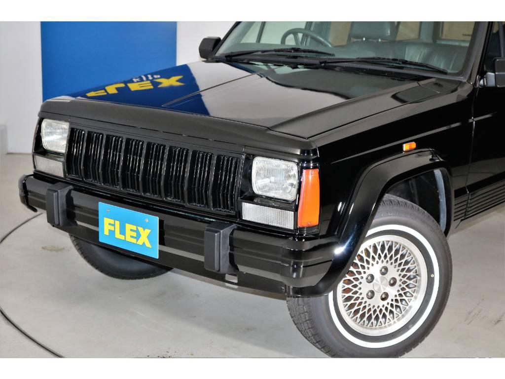 艶々のブラックボディです♪ | ジープ チェロキー リミテッド 4WD