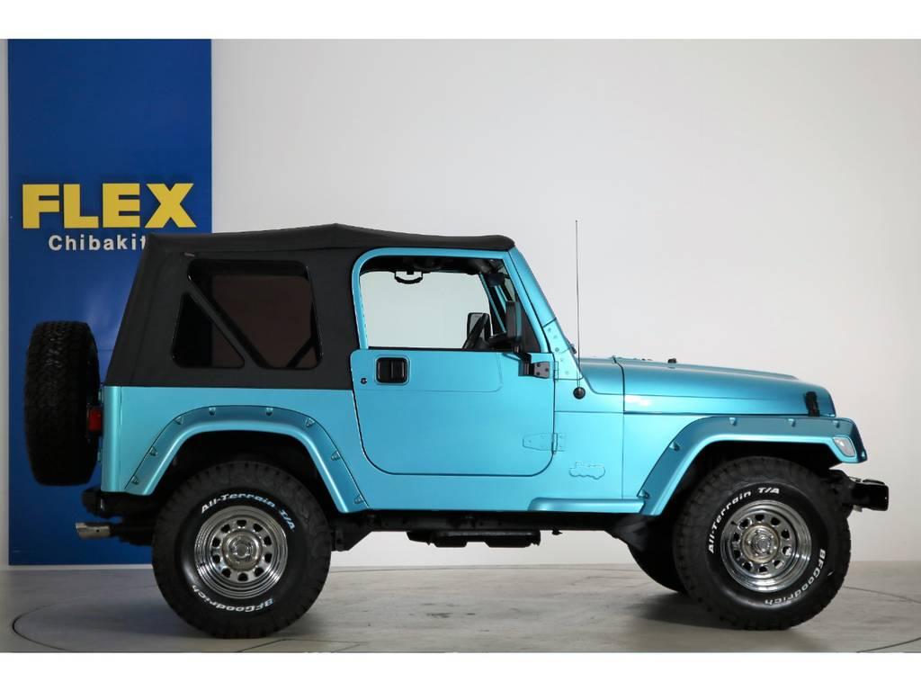 クロームデイトナホイール(新品装着) BF Goodrich All-terrain 32/11.5/15(新品装着) | ジープ ラングラー スポーツ ソフトトップ 4WD