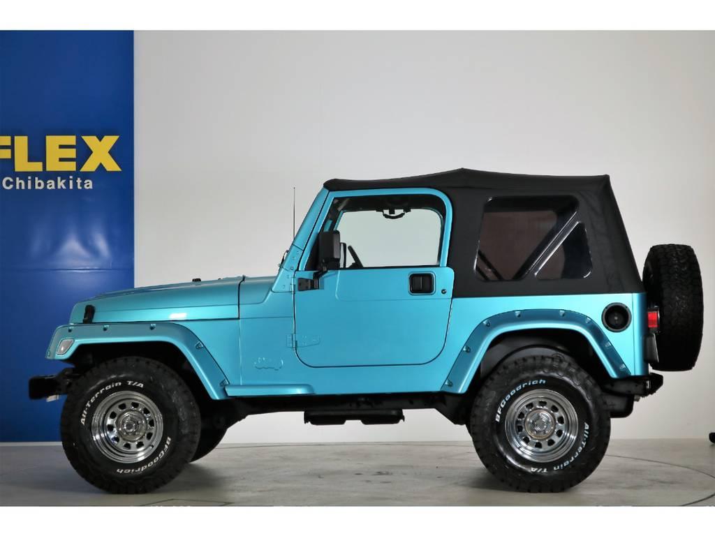 ソフトトップ(新品装着) クリアウィンカー(新品装着) | ジープ ラングラー スポーツ ソフトトップ 4WD