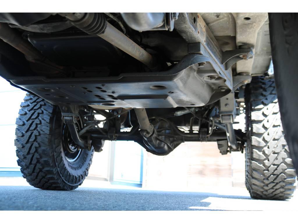 下回りも劣悪な錆やダメージ見受けられません! | ジープ ラングラー スポーツ ソフトトップ 4WD