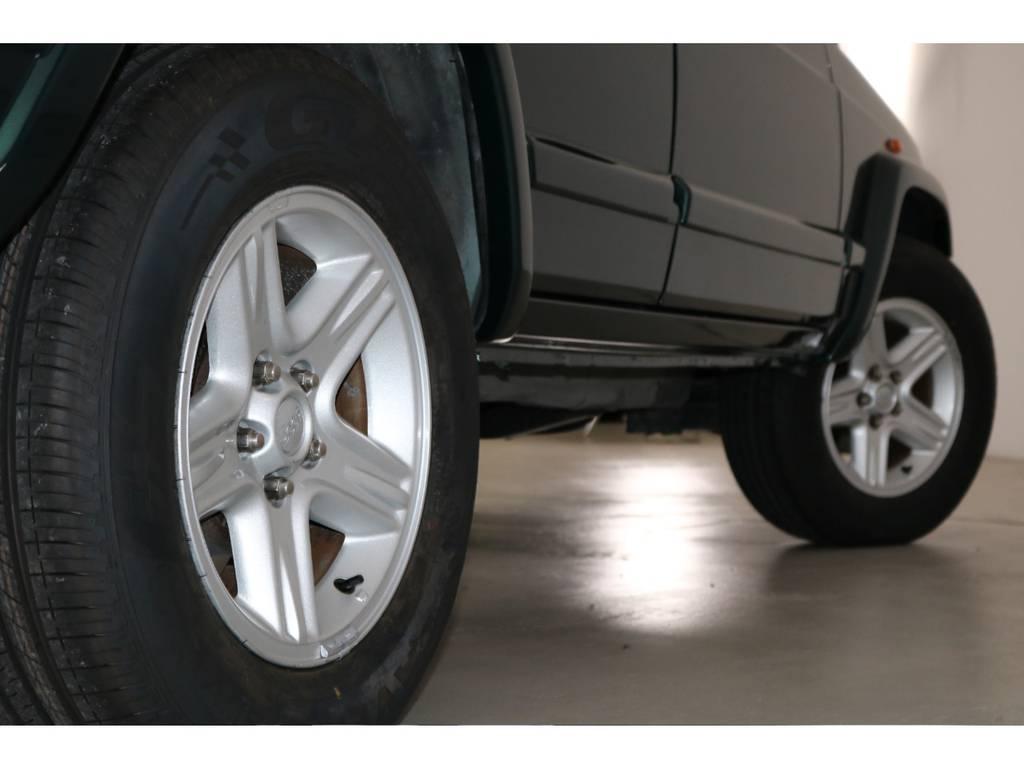 新品タイヤです!! | ジープ チェロキー リミテッド 4WD