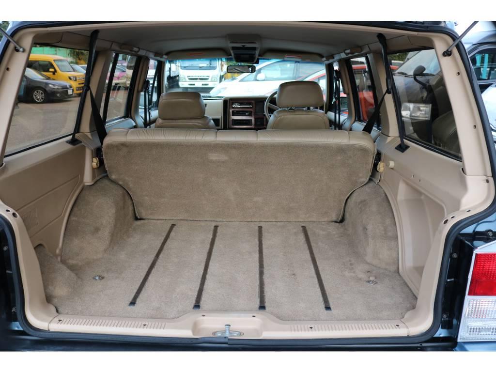 広々としたラゲッジスペース☆   ジープ チェロキー リミテッド 4WD