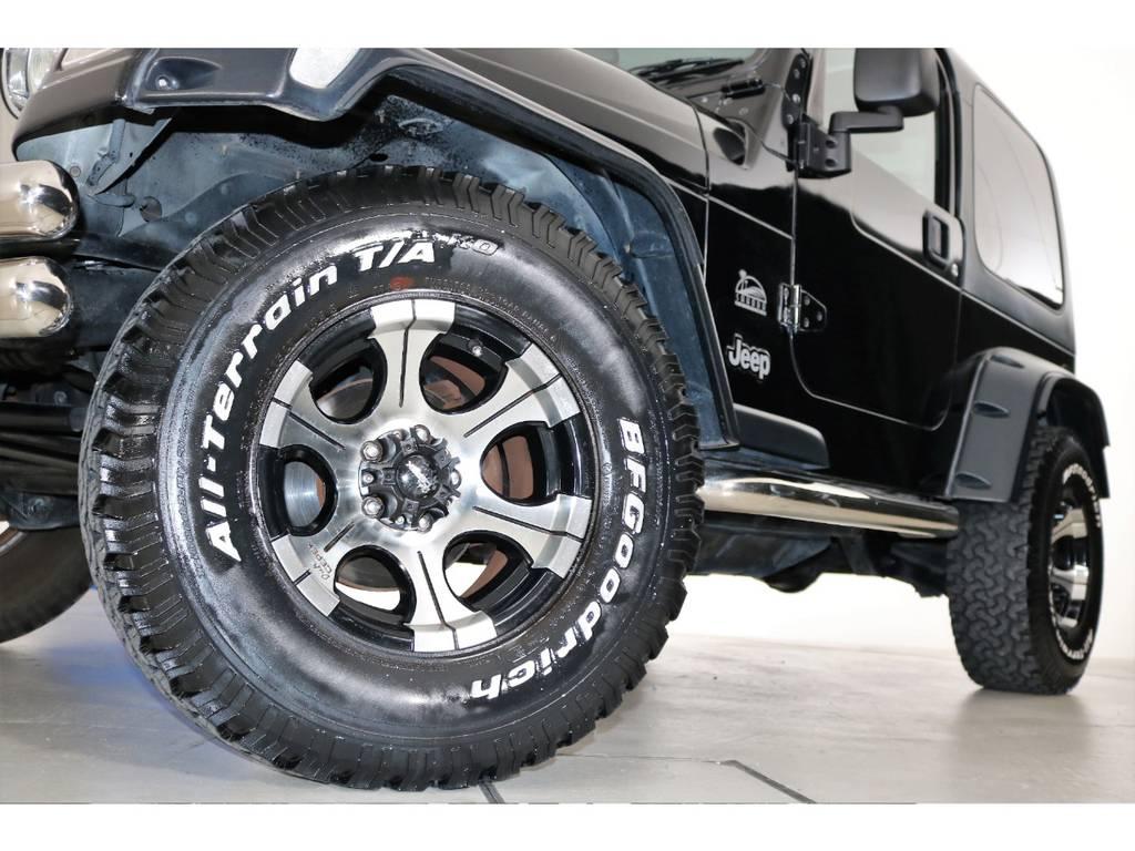 Dick cepekホイール&BF Goodrich All-terrain31/10.5/15☆ | ジープ ラングラー サハラ ハードトップ 4WD