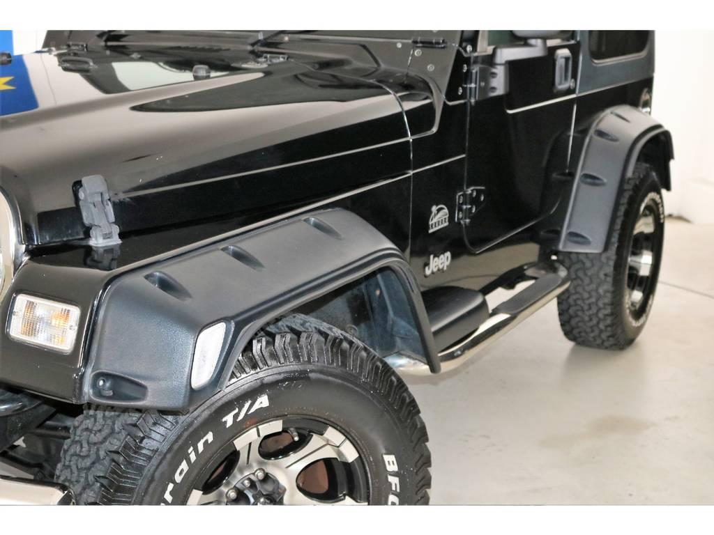 ポケットスタイルオーバーフェンダー☆ | ジープ ラングラー サハラ ハードトップ 4WD