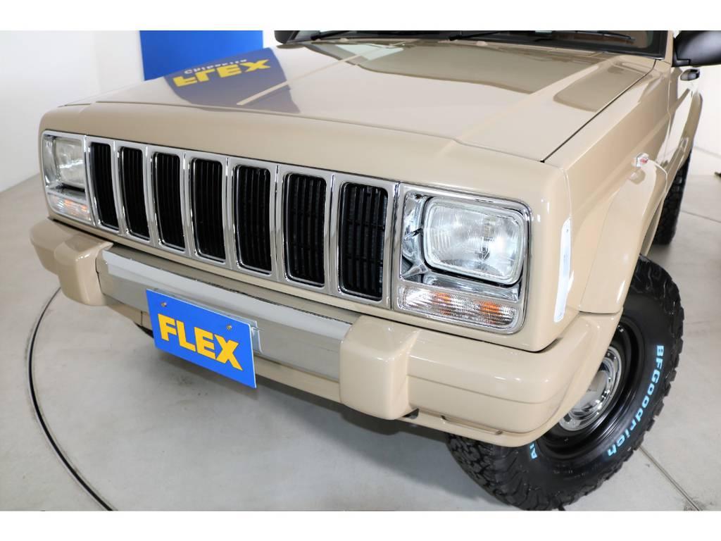 メッキグリル&クリアウィンカー(新品装着) | ジープ チェロキー スポーツ 4WD