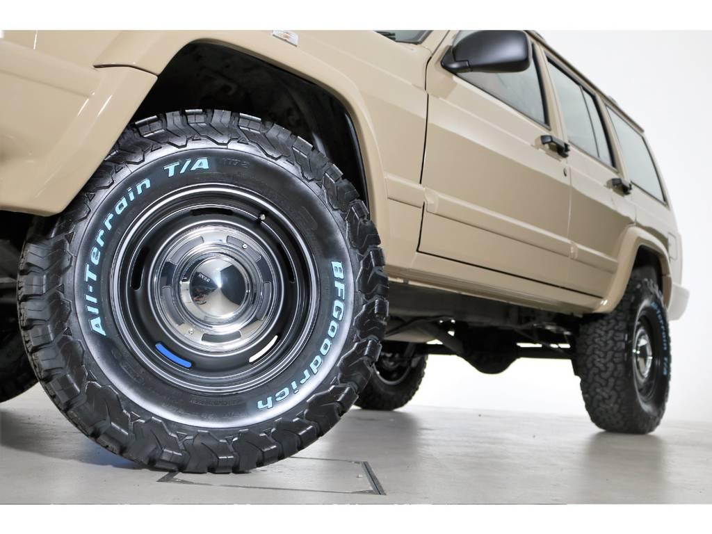 BF Goodrich All-terrain 265/70/16&DEANホイール(新品装着) | ジープ チェロキー スポーツ 4WD