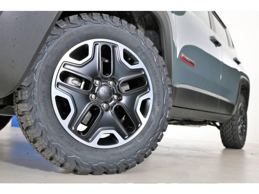 BF Goodrich All-terrainタイヤ(新品装着) | ジープ レネゲード トレイルホーク 4WD