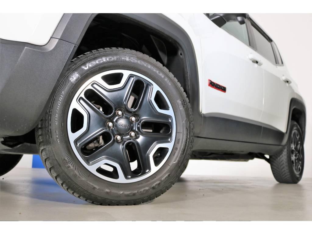 トレイルホーク専用17インチAW☆ | ジープ レネゲード トレイルホーク 4WD