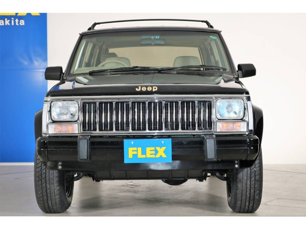 カクカクボディが人気のXJチェロキー☆ | ジープ チェロキー リミテッド 4WD