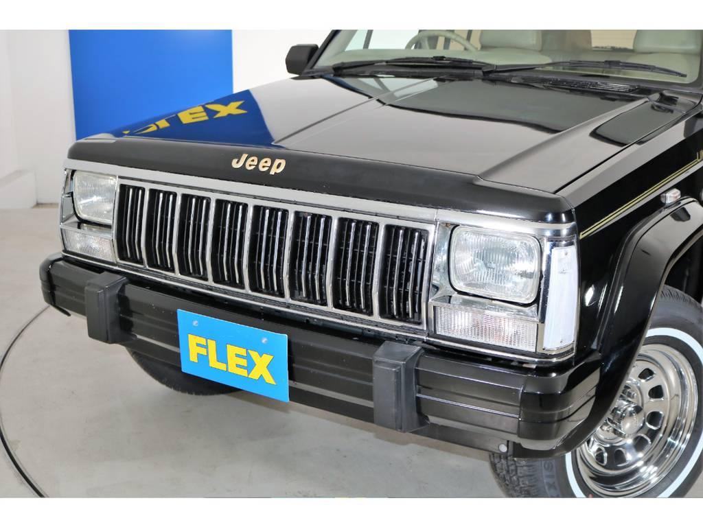 メッキグリル&クリアウィンカー☆ | ジープ チェロキー リミテッド 4WD