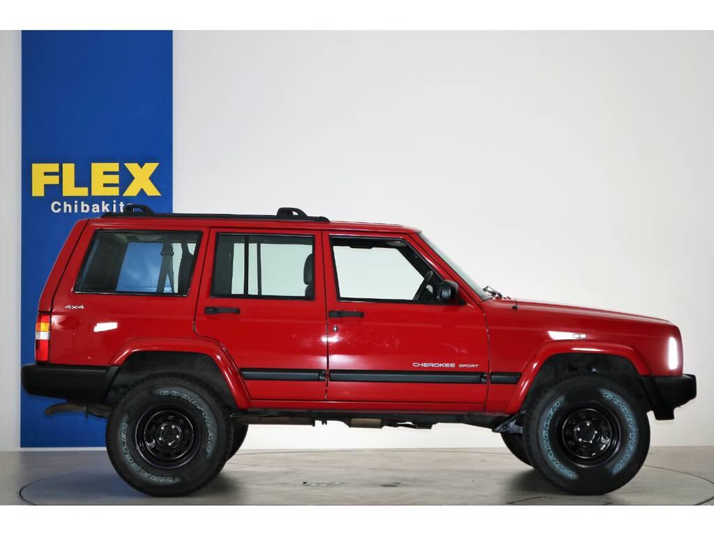 XJチェロキ-最終型モデル!!   ジープ チェロキー スポーツ 4WD