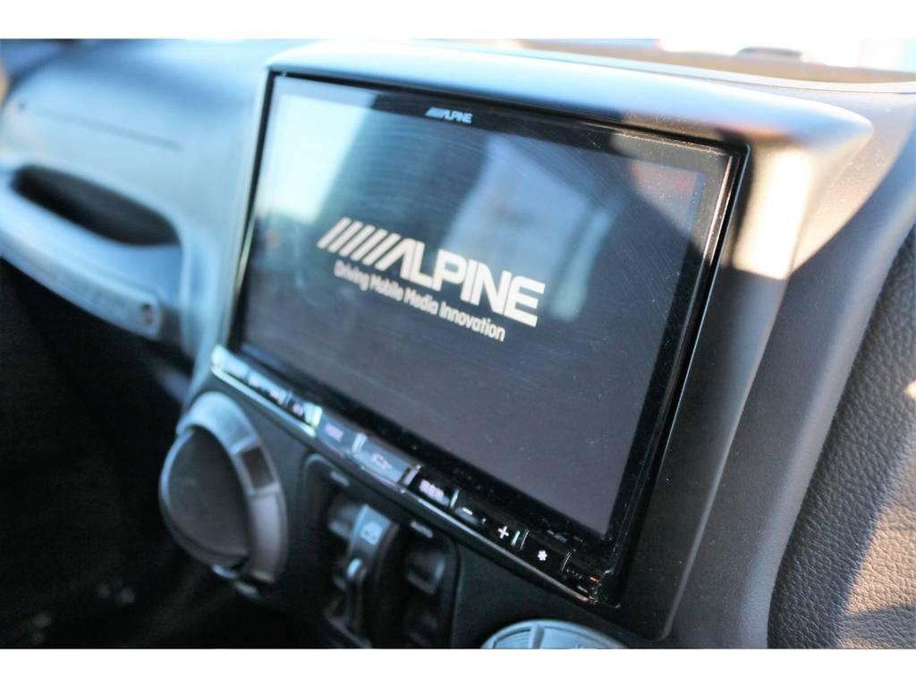 ALPINE8インチフルセグナビ☆ | ジープ ラングラー アンリミテッド スポーツ 4WD