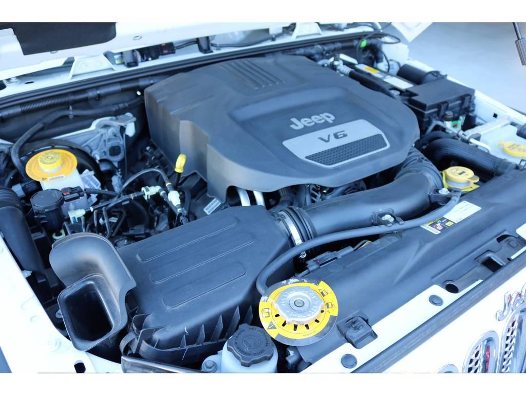 3,600CCエンジン☆ | ジープ ラングラー アンリミテッド スポーツ 4WD