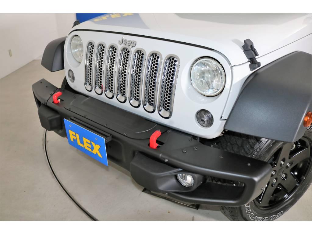 ルビコンタイプバンパー(新品装着) | ジープ ラングラー アンリミテッド スポーツ 4WD