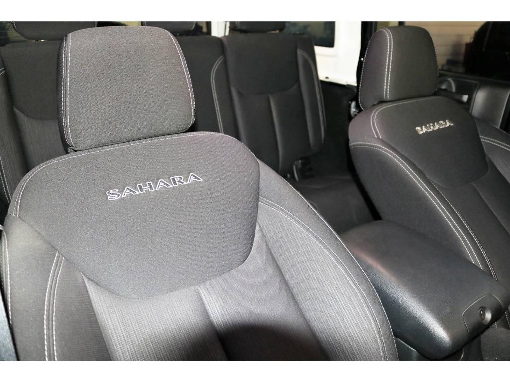 サハラ専用シート☆シートの状態も良好です♪ | ジープ ラングラー アンリミテッド サハラ 4WD
