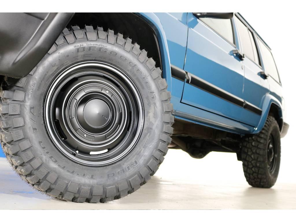 BF Goodrich Mud-terrain 255/70/16&DEANホイール(新品装着) | ジープ チェロキー リミテッド 4WD