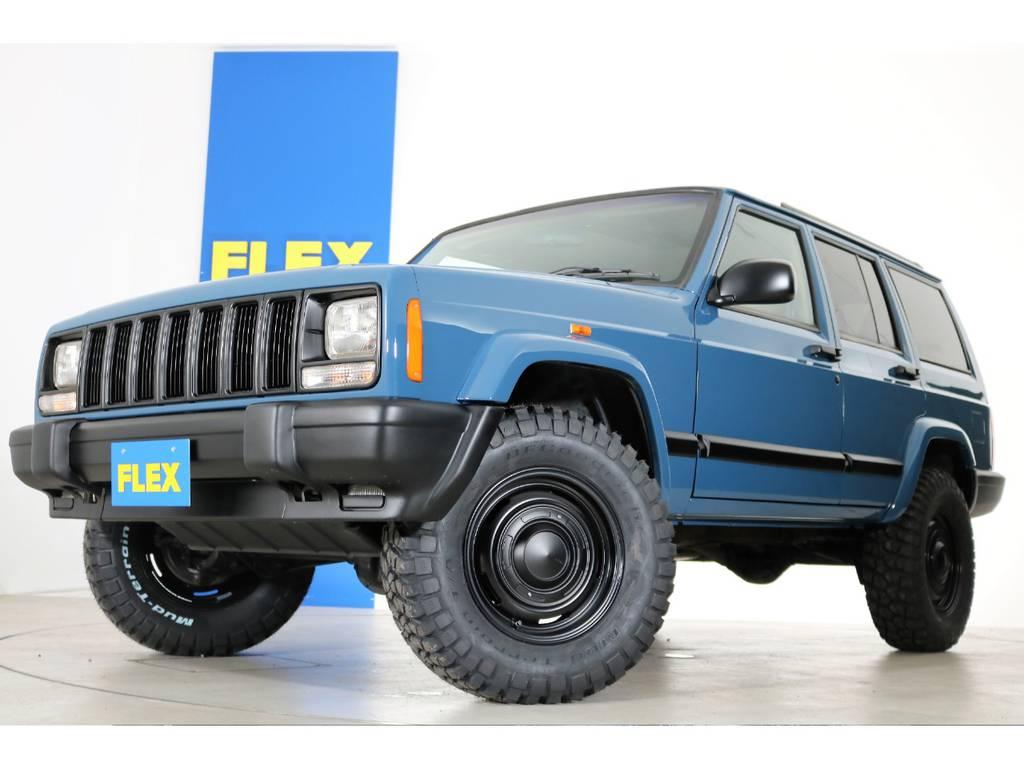 アルルブルーNEWペイント☆ | ジープ チェロキー リミテッド 4WD