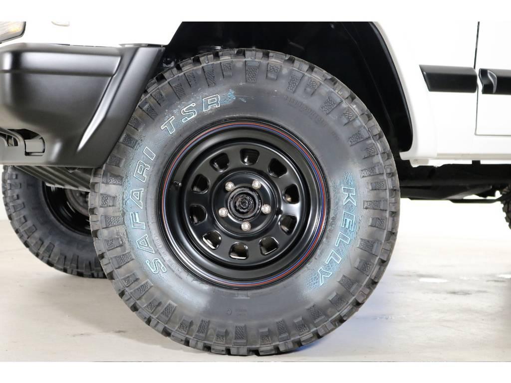 【新品】ブラックデイトナホイール! 【新品】KELLY31/10.5/15MTタイヤ! | ジープ チェロキー スポーツ 4WD