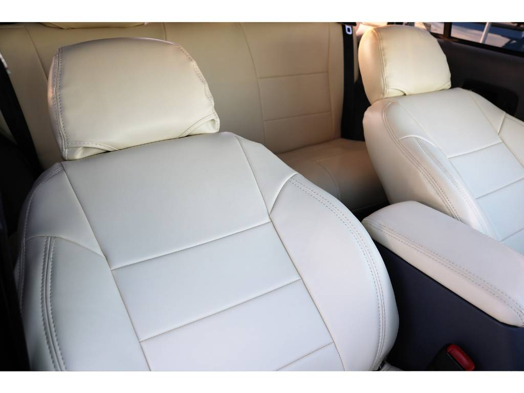 アイボリーシートカバー(新品装着) | ジープ チェロキー リミテッド 4WD