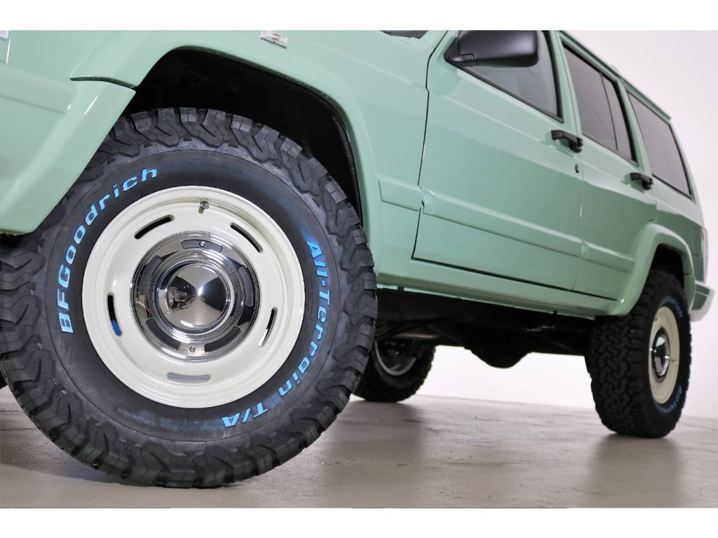 BF Goodrich All-terrain 265/70/16&DEANホイール(新品装着) | ジープ チェロキー リミテッド 4WD