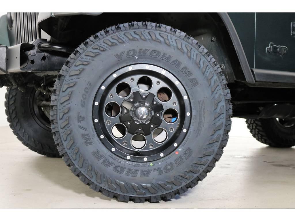 新品タイヤ!!   ジープ ラングラー サハラ ハードトップ 4WD