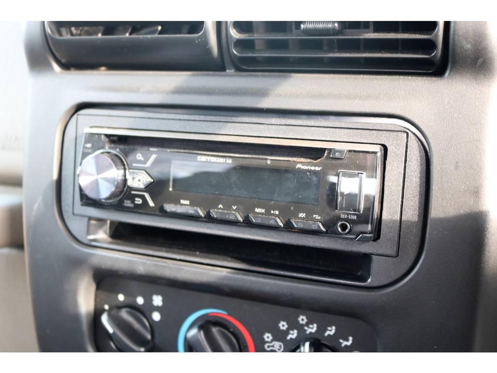 カロッツェリア1DINデッキ☆   ジープ ラングラー サハラ ハードトップ 4WD