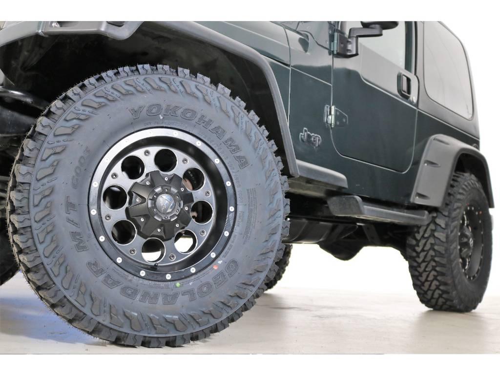 ジオランダーMT 285/75/16(新品装着)&FUELリボルバーAW☆   ジープ ラングラー サハラ ハードトップ 4WD