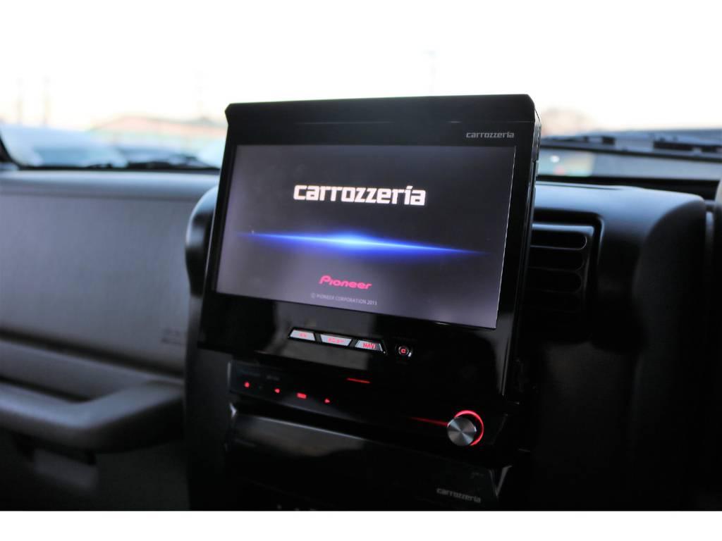 カロッツェリアフルセグナビ☆ | ジープ ラングラー サハラ ハードトップ 4WD