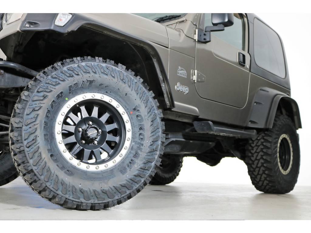 ジオランダーMT 33/12.5/15(新品装着)&METHODホイール☆ | ジープ ラングラー サハラ ハードトップ 4WD