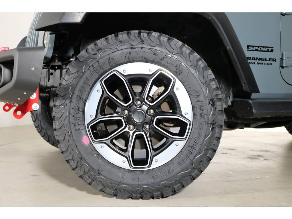 新品タイヤホイール☆ | ジープ ラングラー アンリミテッド スポーツ 4WD
