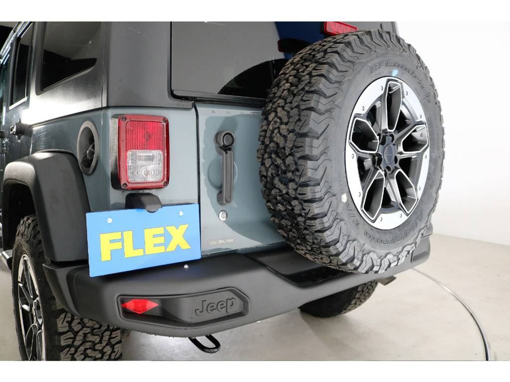 ルビコンタイプリアバンパー(新品装着) | ジープ ラングラー アンリミテッド スポーツ 4WD