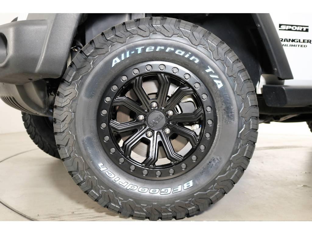 新品タイヤホイール☆   ジープ ラングラー アンリミテッド スポーツ 4WD