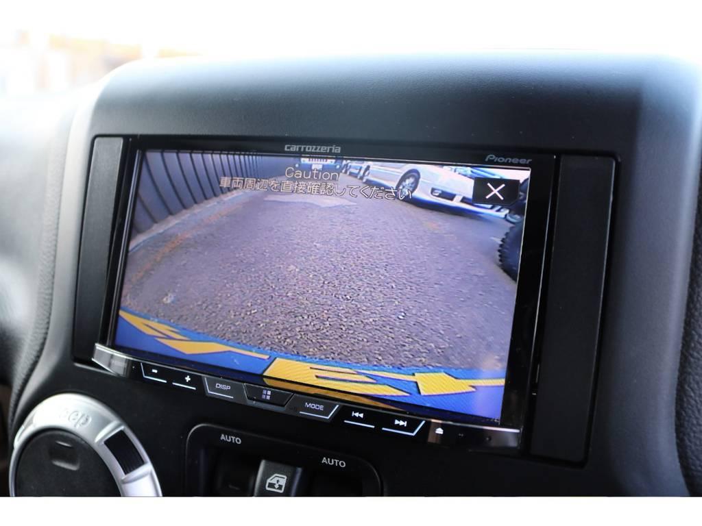 カロッツェリアオーディオ&バックカメラ付き!DVD再生可能です♪ | ジープ ラングラー アンリミテッド サハラ 4WD