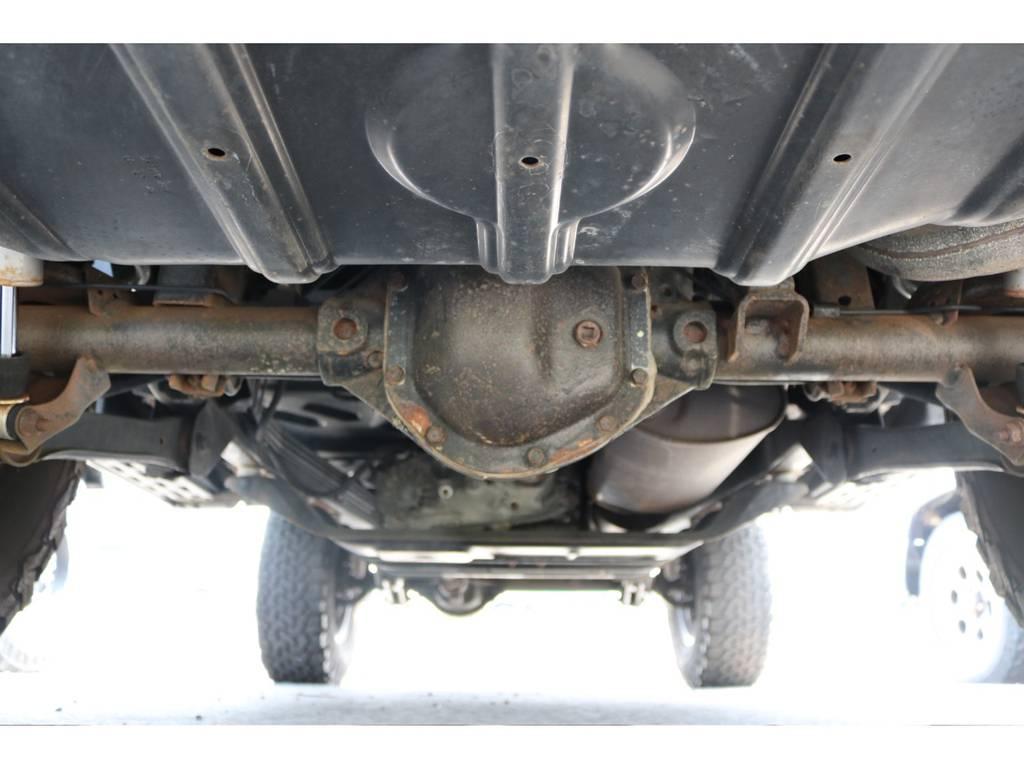 下回り高圧洗浄済み! | ジープ ラングラー サハラ ハードトップ 4WD