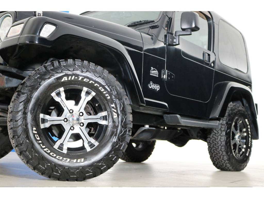 BF Goodrich All-terrain 265/70/16&MKWホイール☆ | ジープ ラングラー サハラ ハードトップ 4WD