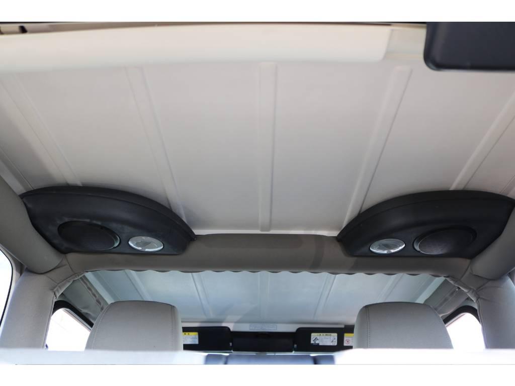 天井部☆ご覧の通り綺麗な状態です♪ | ジープ ラングラー サハラ ハードトップ 4WD アンヴィルNEWペイント