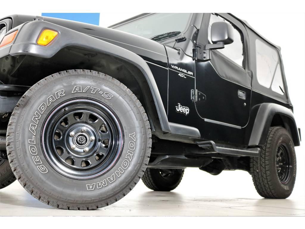 ブラックデイトナホイール☆ | ジープ ラングラー スポーツ ソフトトップ 4WD