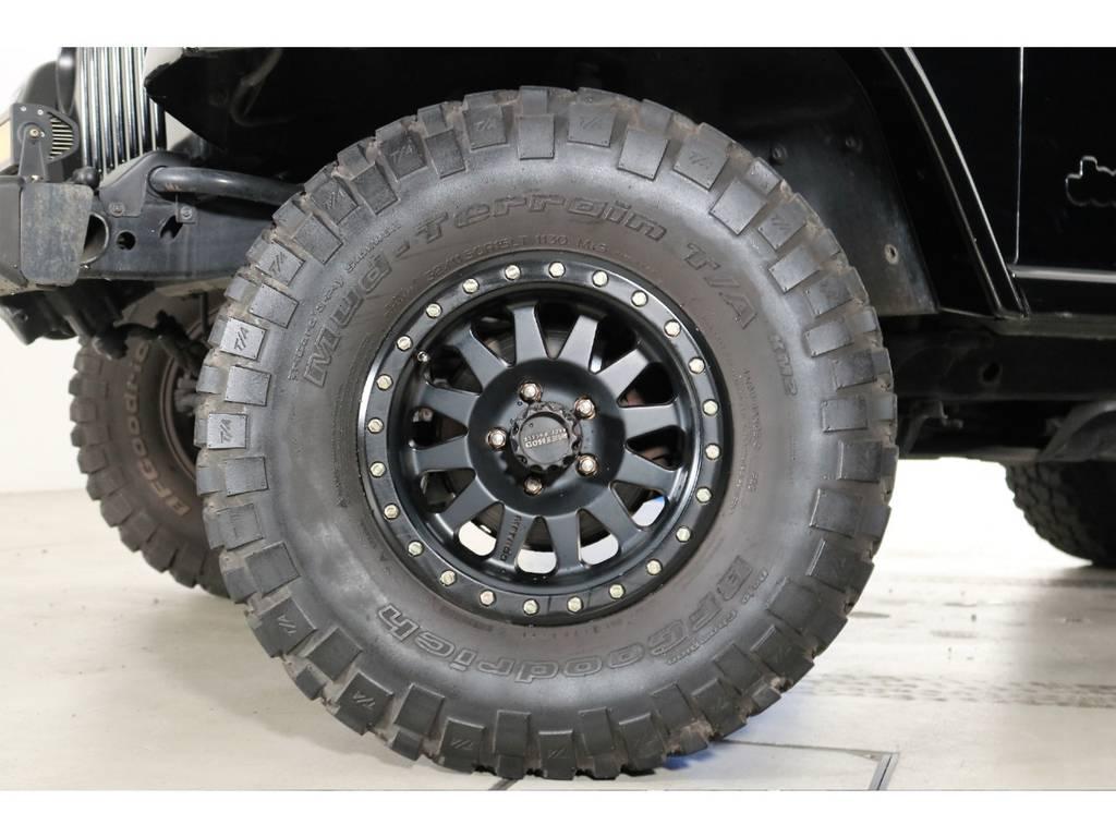 タイヤの残り溝もまだまだです!